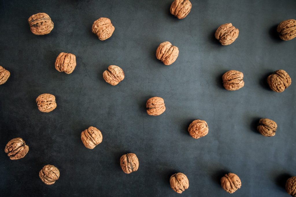 nuts are full of omega-3's, which could be helpful for an anti-inflammatory diet for OCD