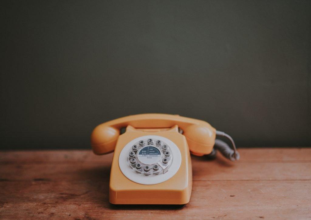 digital minimalism and land line phones